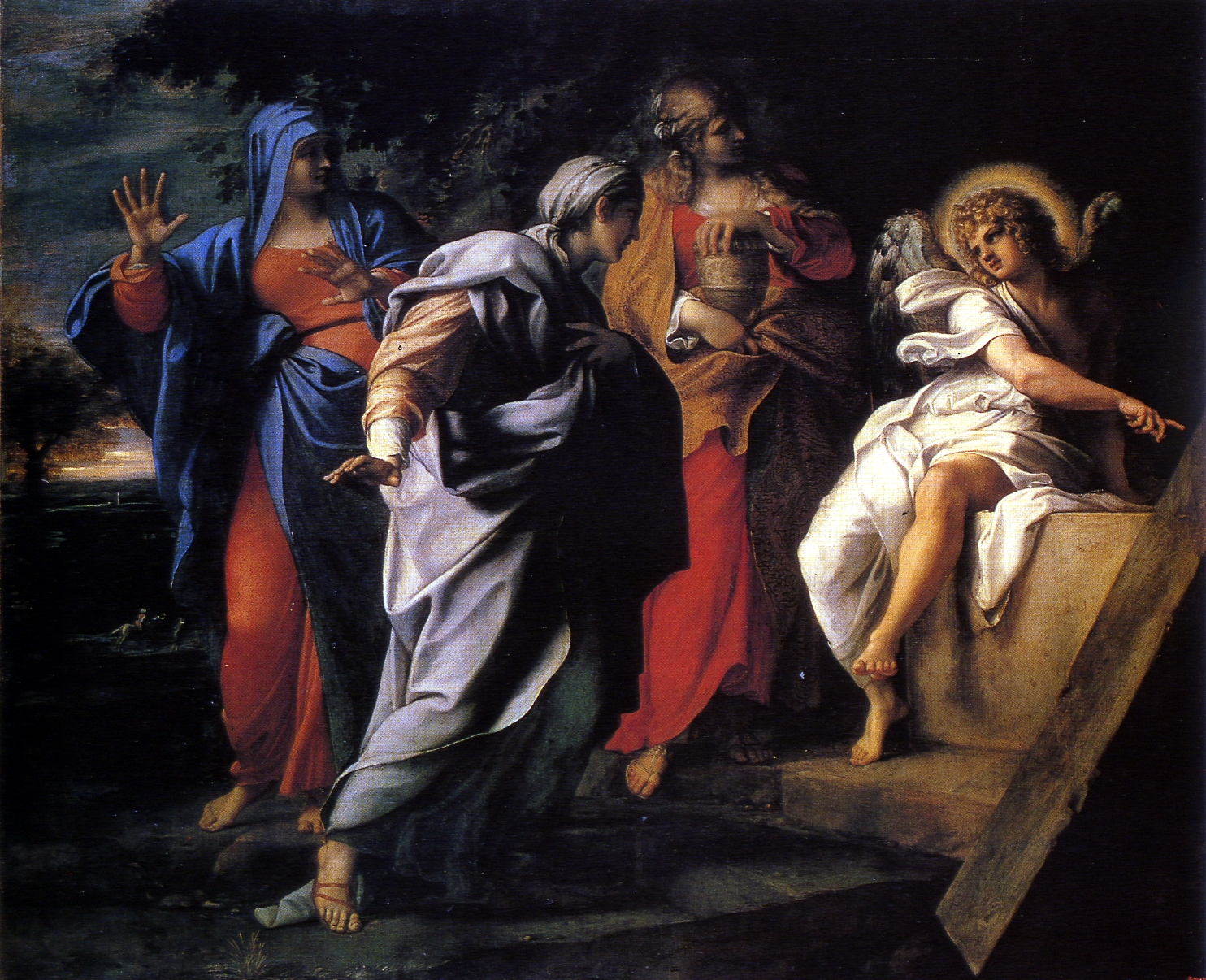 Carracci(Annibale)-1590s-Holy Women at Christ' s Tomb-canvas-121x146cm-Hermitage+.jpg